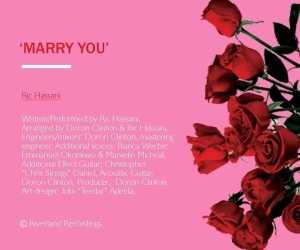 Ric Hassani - Marry You